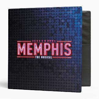 MEMPHIS - The Musical Logo Vinyl Binder