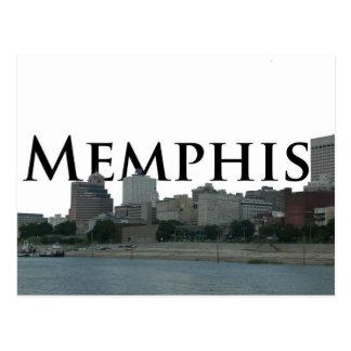 Memphis TN Skyline with Memphis the Sky Postcard