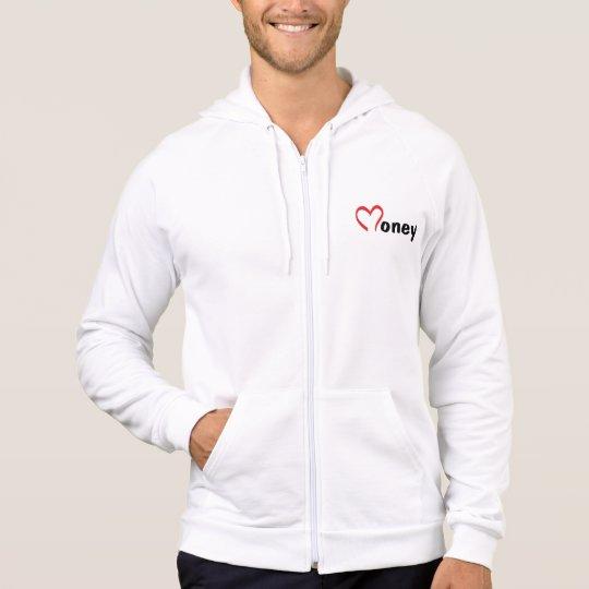 Men apparel fleece zip hood HQH Hoodie