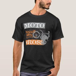 Men Black Motocross Hawaii Holiday T-Shirt