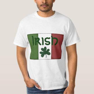 Men,Boys,Girls T Shirt Irish Flag Shamrock