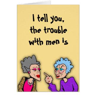 Men Greeting Card