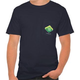 Men Company Logo T-Shirt with Pocket Custom Print