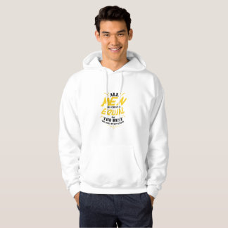 Men Created Equal But The Best Born In September Hoodie