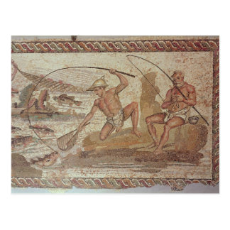 Men fishing on the Nile Postcard