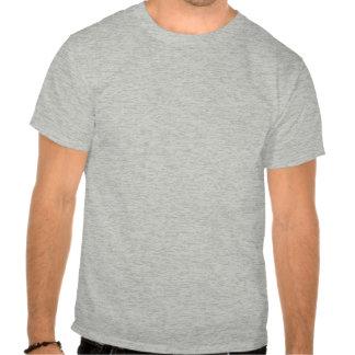 men funny t-shirt Light travels faster than sound.