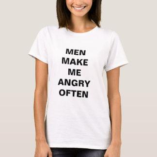 Men Make Me Angry Often Shirt
