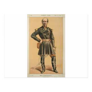 Men of the Day No.100 Caricature of Gen Louis Jule Postcard