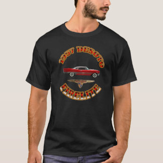 "Men""s Black 1957 Desoto Firelite. Shirt"