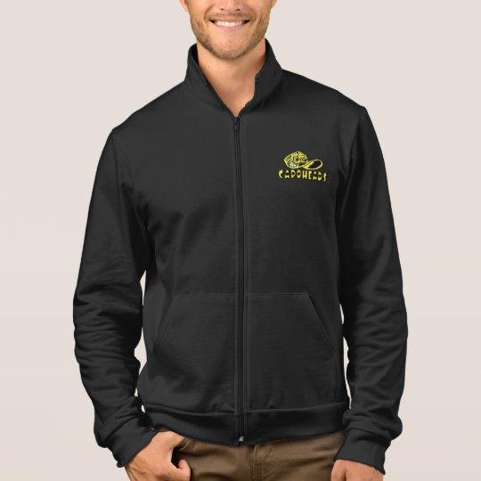 Men's Black & Yellow CapoHeads Fleece Jacket