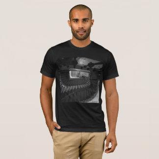 Men's T-Shirt, Black: Stairway in Hamburg 2015 T-Shirt