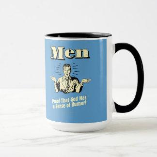 Men: Sense Of Humor Mug