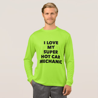 Men T-Shirt - I love my super hot car mechanic