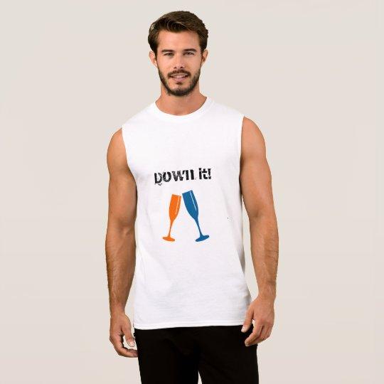 Men T-shirt Sleeveless XL