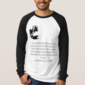 Men t shirt with ''gambler'' quote and art