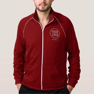 Men Track Jacket with Company Logo No Minimum