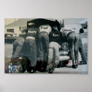 Men Under Hood Poster