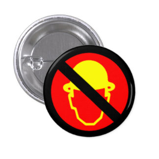Men Without Hats 1 Inch Round Button