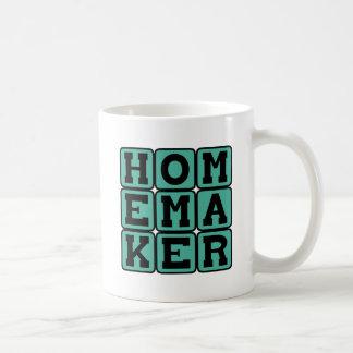 Ménagère, déesse domestique tasses à café