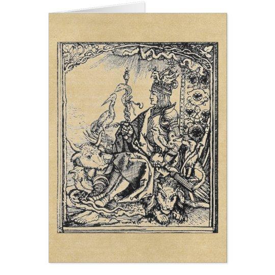 Menagerie of Emperor Maximilian Card