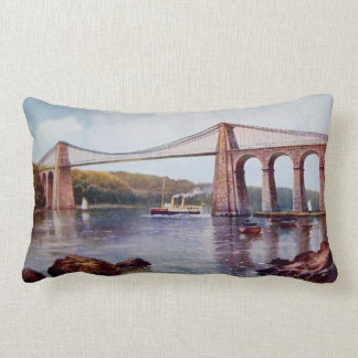 Menai Suspension Bridge Pillow