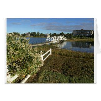 Menauhant Beach Cape Cod Greeting Card