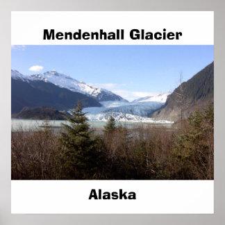Mendenhall Glacier, Alaska Poster