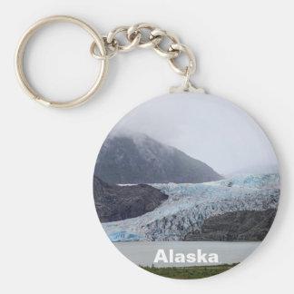 Mendenhall Glacier Basic Round Button Keychain