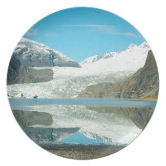 Mendenhall Glacier Dinner Plate