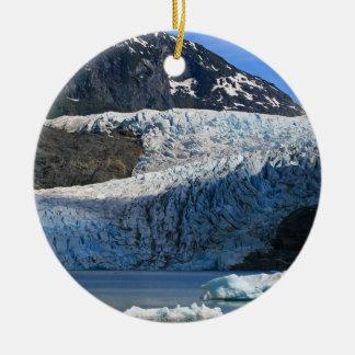 Mendenhall Glacier / Juneau Alaska Ceramic Ornament