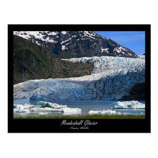 Mendenhall Glacier / Juneau Alaska Postcard