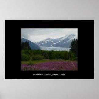 Mendenhall Glacier, Juneau, Alaska Poster