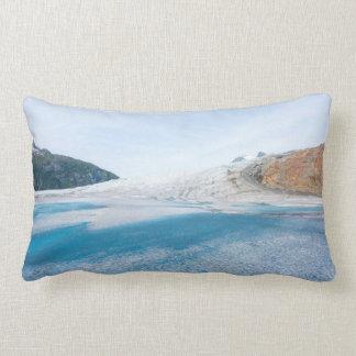 Mendenhall Glacier Lumbar Pillow
