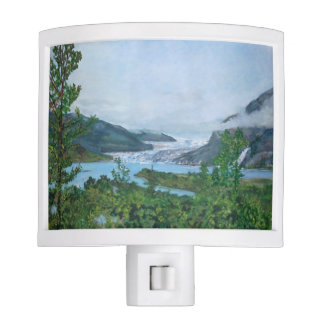 Mendenhall Glacier - Night Light