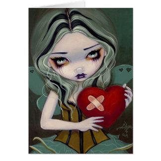 """""""Mending a Broken Heart"""" Greeting Card"""