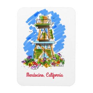 Mendocino watertower magnet