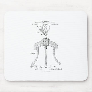 Meneely Bell Company - Yoke Patent Mouse Pad