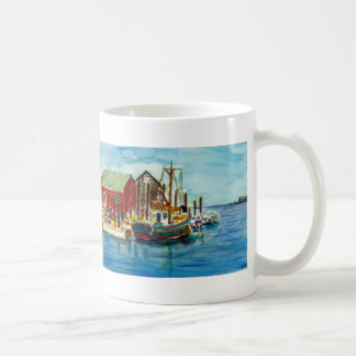 Menemsha, From an original watercolor by Arnold... Coffee Mug