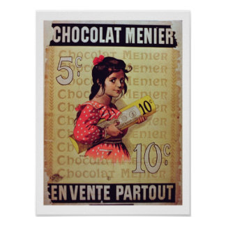 'Menier Chocolat', On Sale Everywhere (colour lith Poster