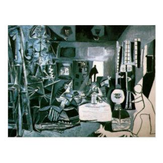 meninas de Pablo Picasso Carte Postale