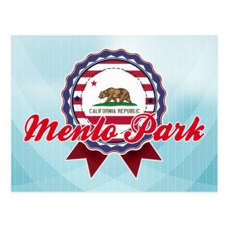 Menlo Park, CA Postcard