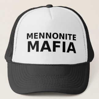 Mennonite Mafia Funny Hat Humor