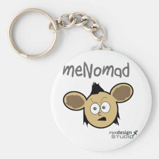 meNomad Basic Round Button Keychain