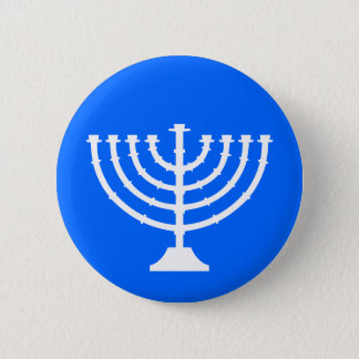 Menorah Holiday Button