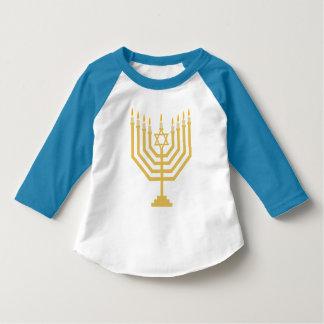 Menorah Kids Raglan Shirt