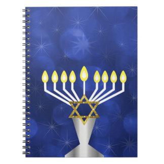Menorah Spiral Notebook