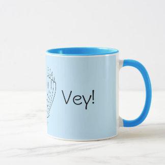 Menorah Turkey Mug