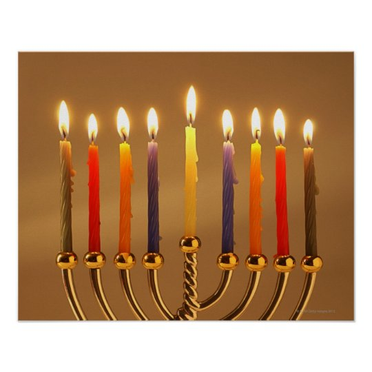 how many menorah candles should be lit today