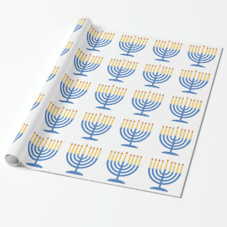 Menorah Wrapping Paper