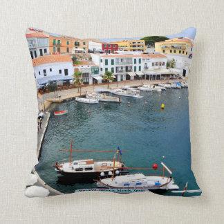 Menorca, Balearic Islands, Spain Throw Pillow